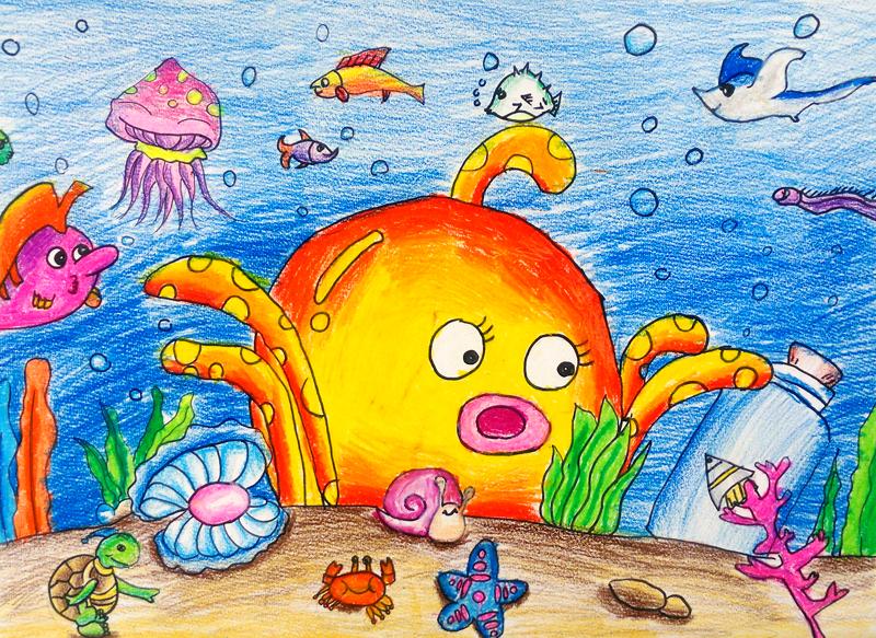 投票第一名作品欣赏-《海底世界/under the sea》图片